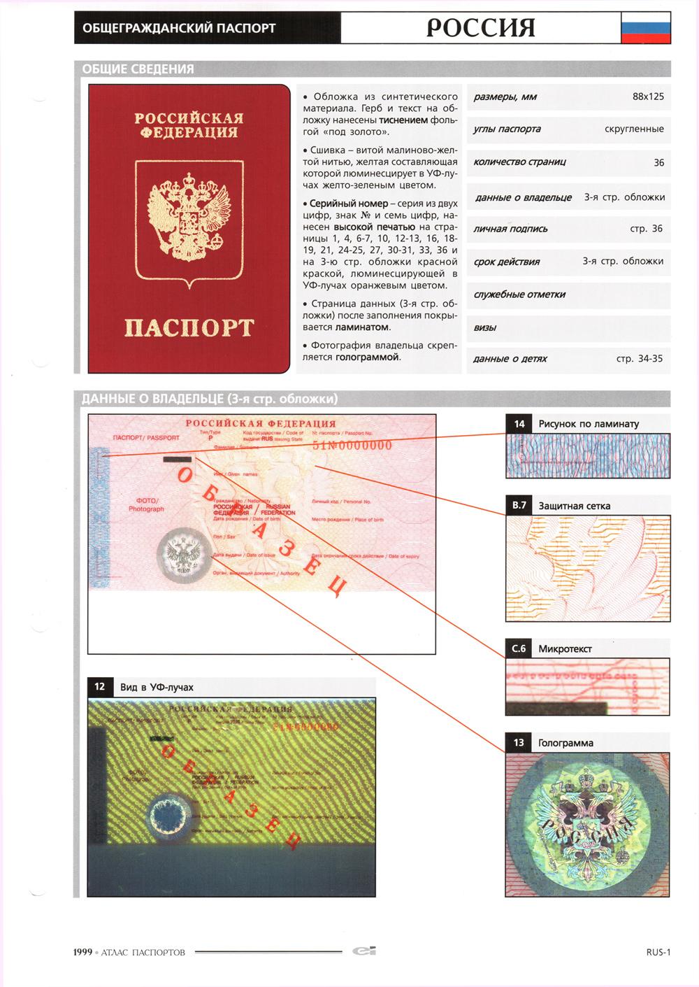 УФМС напоминает: загранпаспорт можно оформить через 29